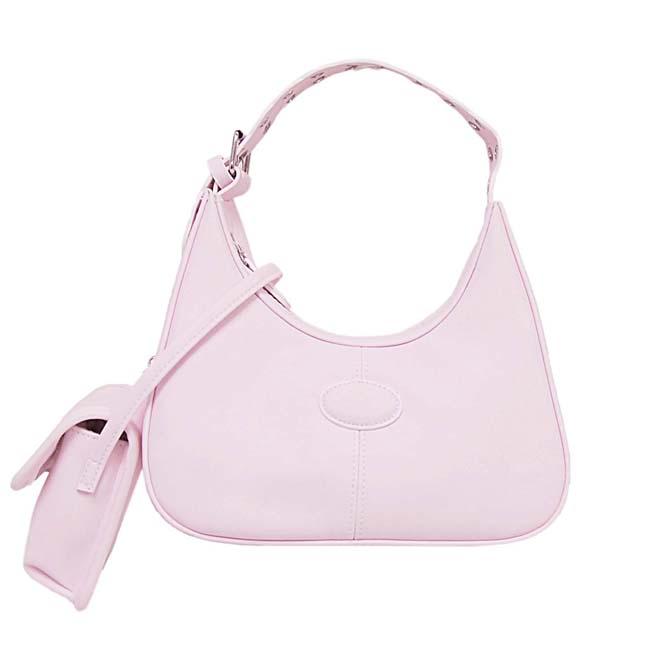 Mudd Pink Handbag with Cell Phone Case