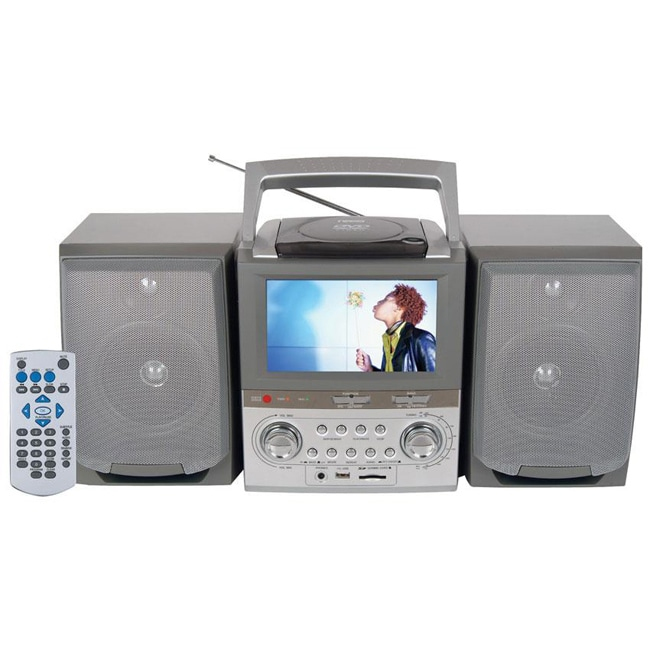 Portable DVD/ Radio with 7-inch TFT Screen