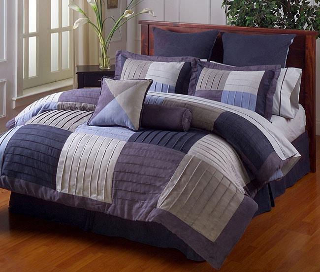 Evening Sky Microsuede Comforter Set