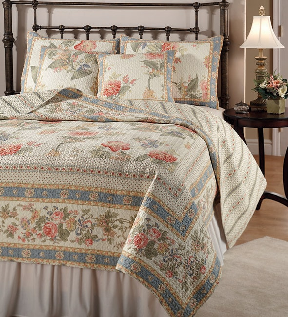 Victoria Quilt Set Free Shipping Today Overstock Com