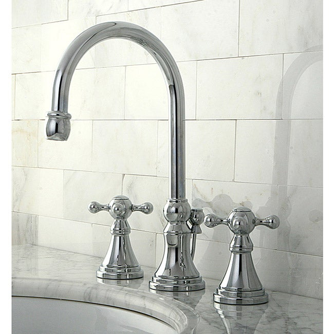 Governor Widespread Chrome Bathroom Faucet
