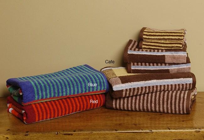 Mondrian 6-piece Cotton Bath Towel Set
