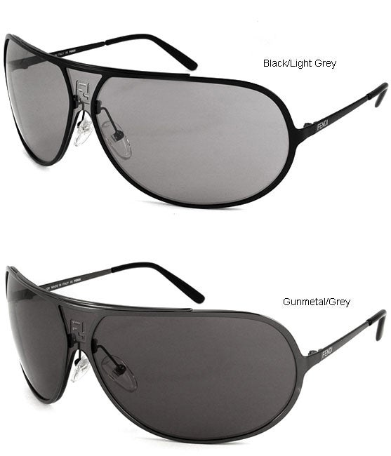 1b5a9b7af6 Shop Fendi Men s Metal Aviator Sunglasses - Free Shipping Today - Overstock  - 3036560