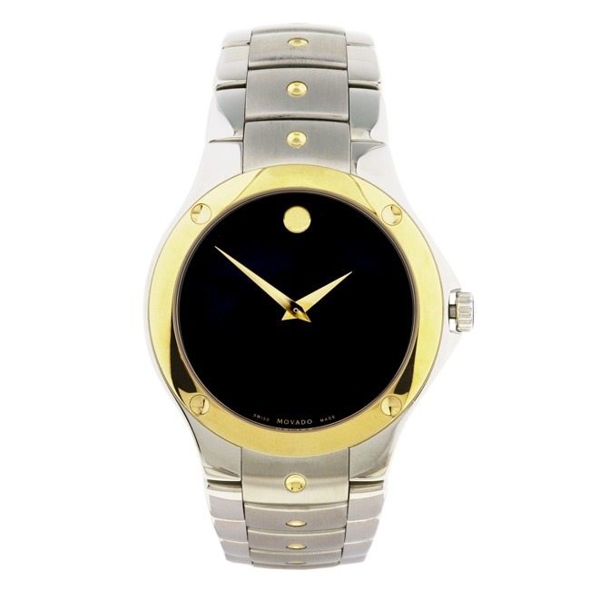0e473576bae Shop Movado Sports Edition Two-tone Men s Watch - Free Shipping Today -  Overstock - 3037224