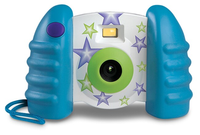 Blue Hat Little Shots Kids Digital Camera