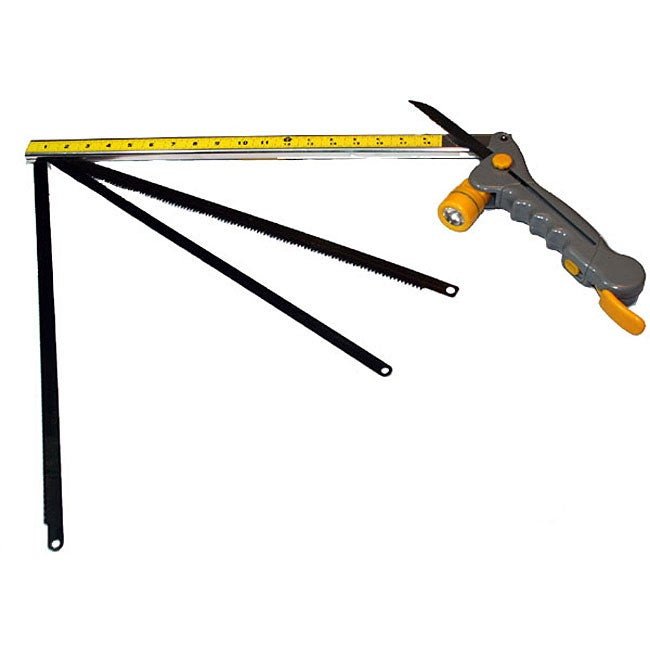 What a Saw 7-in-1 Lighted Folding Saws with Sheath
