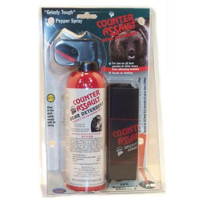 Counter Assault 8.1-oz Bear Spray with Holster - Thumbnail 0