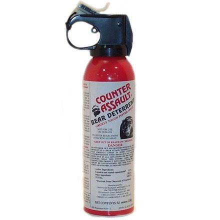 Counter Assault 8.1-ounce Bear Deterrent Pepper Spray