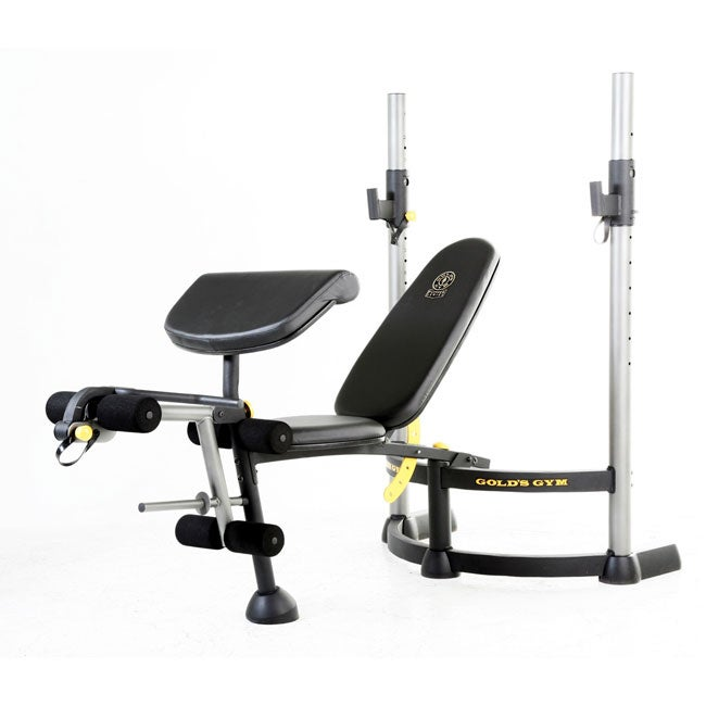 Shop gold s gym power series bench free shipping today
