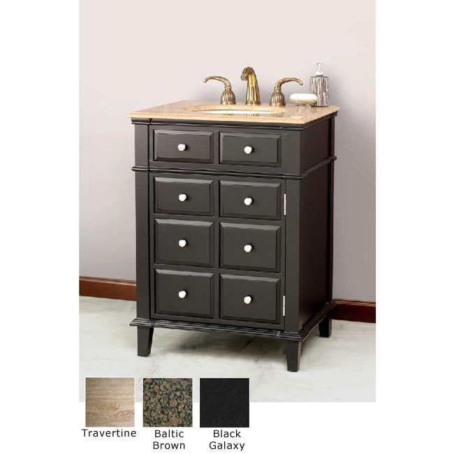 Shop Windham 26 Inch Single Sink Bathroom Vanity Free Shipping