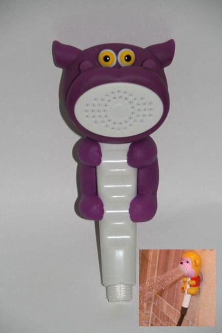 Shower Pal 'Purple Hippo' Hand Shower