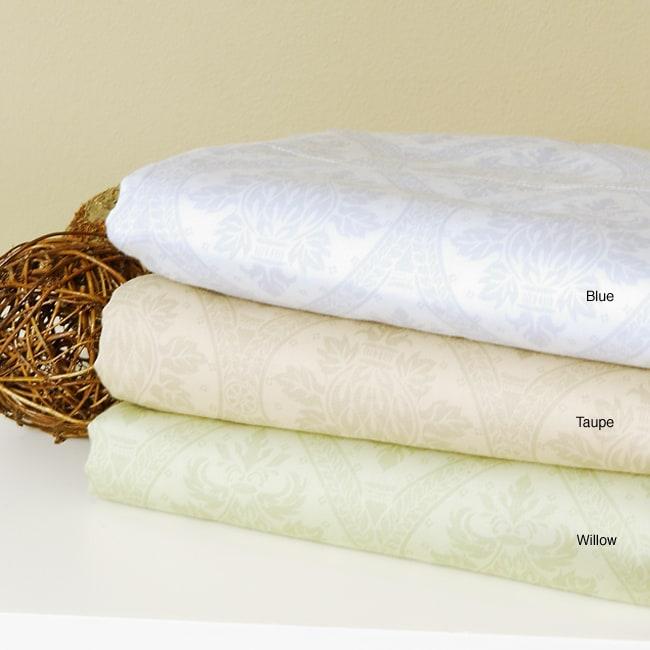 300 Thread Count Regency Medallion Printed Cotton Sheet Set