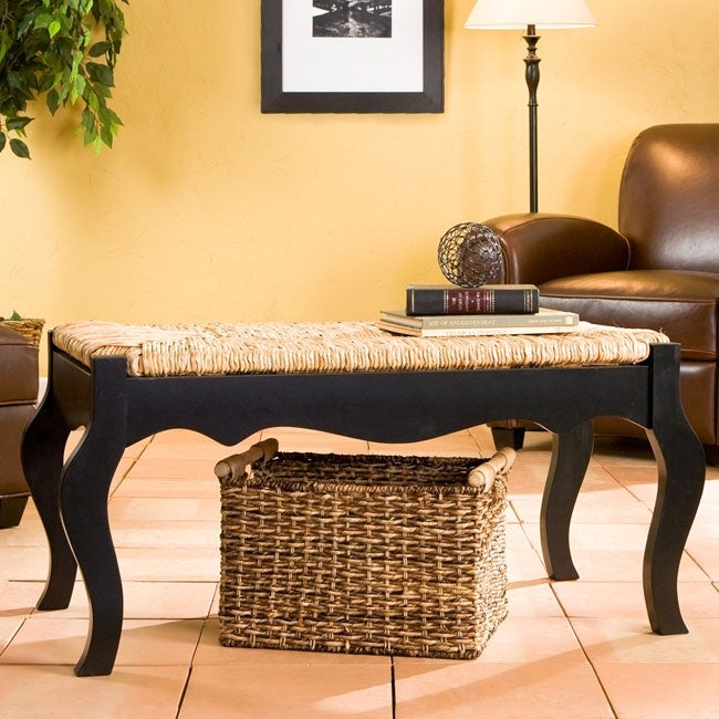 Shop Sherwood Black Rush Bench Free Shipping Today