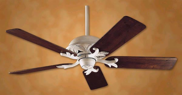 Hunter - Marseille Distressed White Ceiling Fan