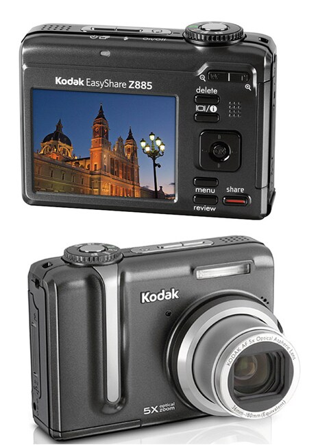 Kodak Z885 Easyshare 8.1MP Digital Camera (Refurbished)