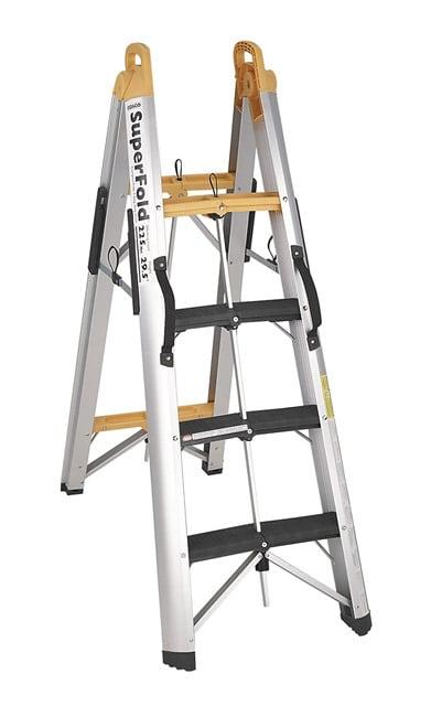 3 Step Ladder Foldable Steel 3 Step Ladder Stepladder With