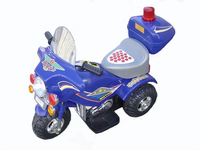 Electric Kids Police Motorcycle