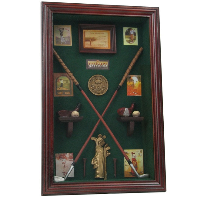 Golf Club Shadow Box Wall Display Free Shipping Today