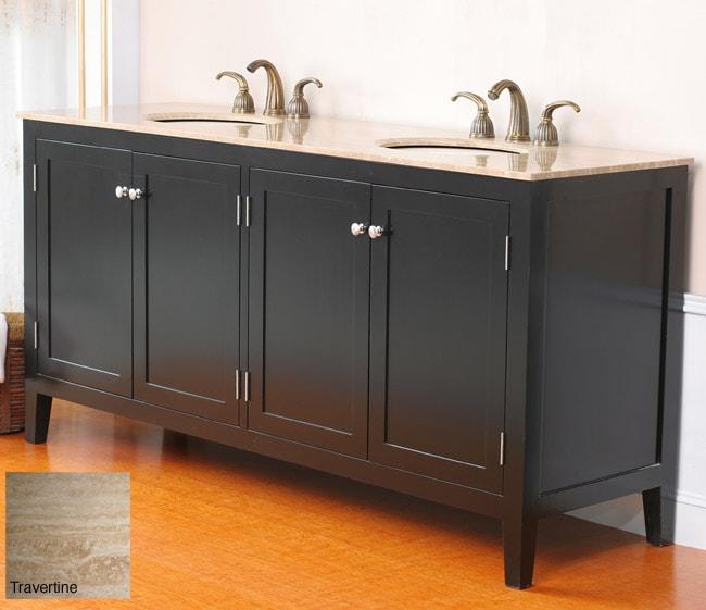 Allante 72-inch Double Sink Bathroom Vanity