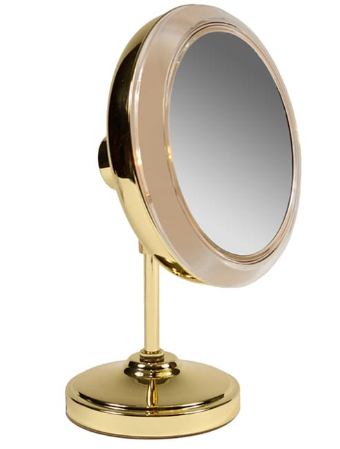 Rialto 5x Magnifying Lighted Cosmetic Mirror Free