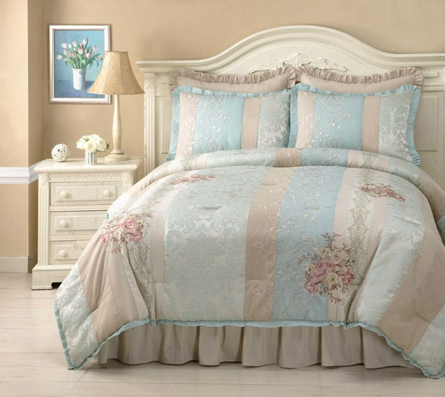 Shop Sasha 4 Piece Comforter Set Free Shipping Today