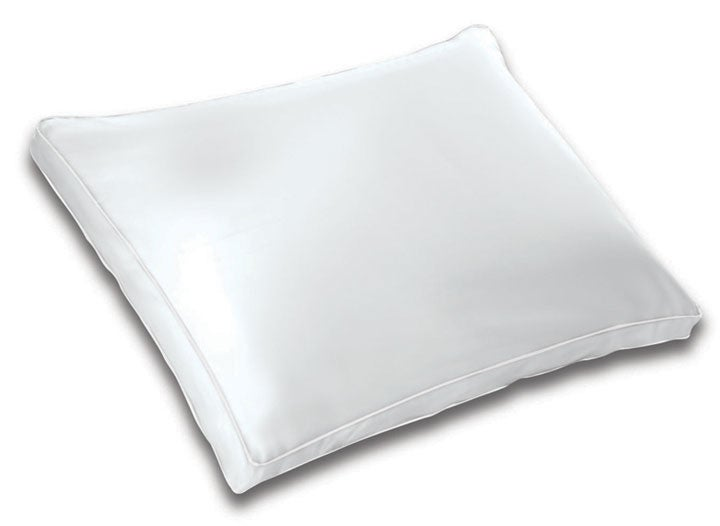 White Gusseted Polyester-filled Pillow