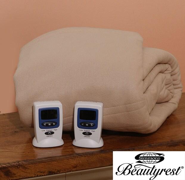 Beautyrest Cozy Fleece Electric Blanket