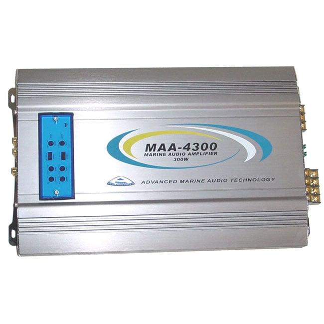 Access Technologies 300-watt 4-channel Outdoor Patio/Marine Audio Amplifier