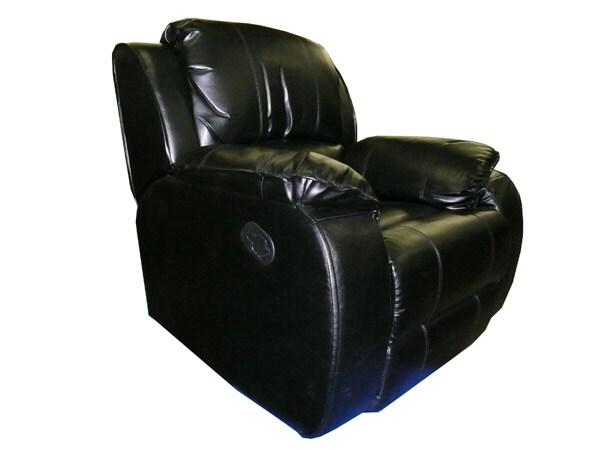 Leather Swivel Rocker/ Recliner