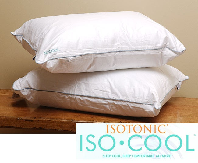 Cool Comfort Polyester Pillow (Set of 2)