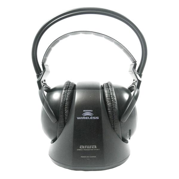 Shop Aiwa HPWR601 900MHz Wireless Headphones (Refurbished