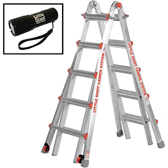 Little Giant Model 22 Type 1a Ladder With Flashlight