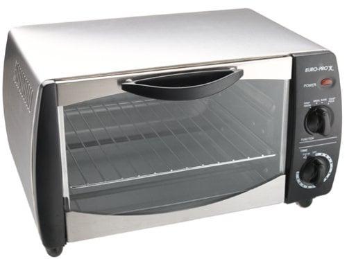 Euro Pro To282 4 Slice Toaster Oven Refurbished Free