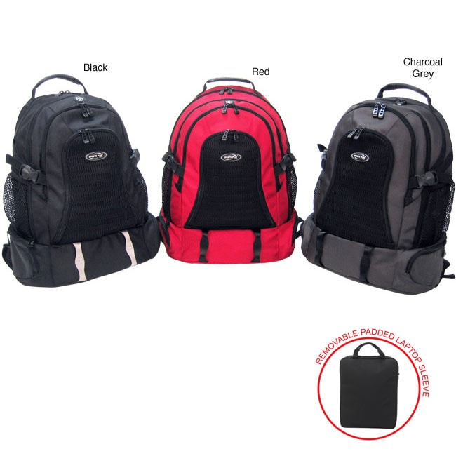 Olympia Cambridge 20-inch Laptop Backpack - Free Shipping On ...