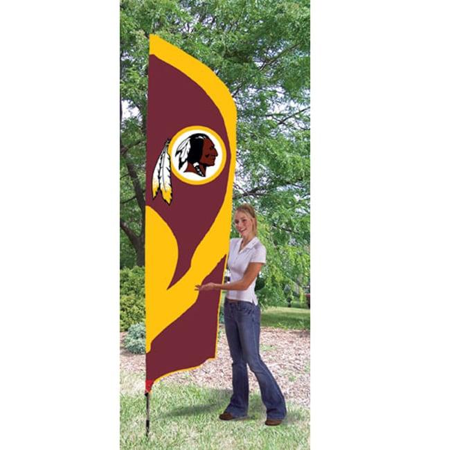 Washington Redskins Team Banner Flag/ Stand