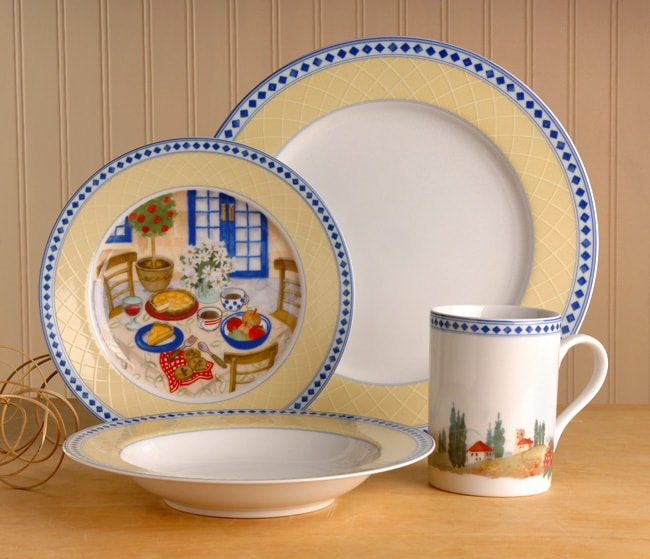 Mikasa Country Chateau 16 Pc Dinnerware Free Shipping
