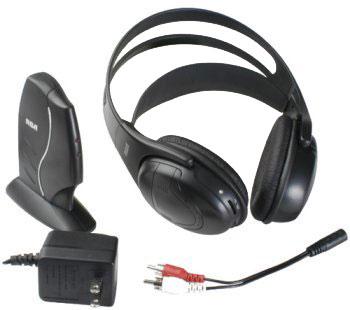 RCA WHP150C 900MHz Wireless Headphones