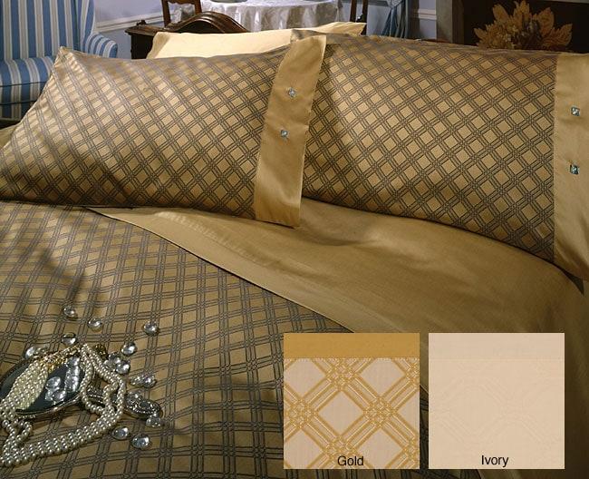 Italian Made Egyptian Cotton 400 TC Duvet Cover Set