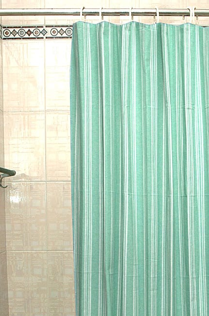 mint striped shower curtain free shipping on orders over 45