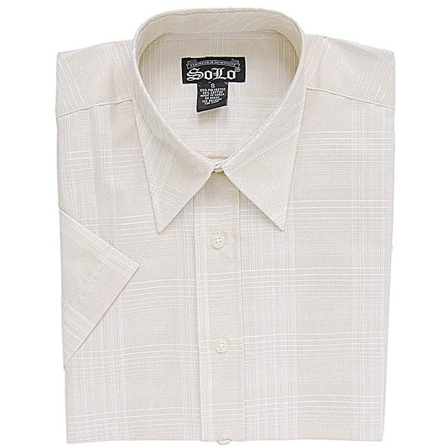 Solo Jeans Men's Fashionable Button Front Shirt
