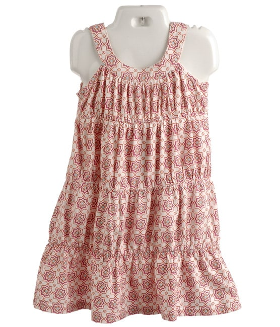 Lucy Sykes Toddler Girl's Knit Tiered Dress