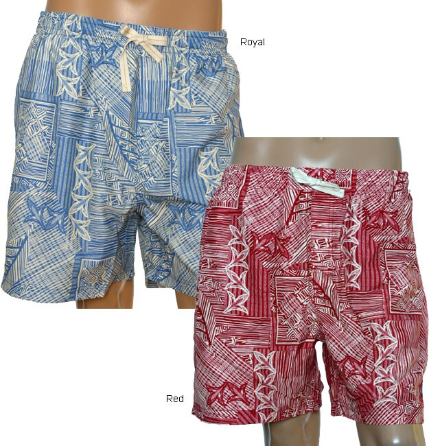 b84b98b1b3 Shop Nat Nast Men's Woodcut Board Shorts - Free Shipping On Orders Over $45  - Overstock.com - 3164604