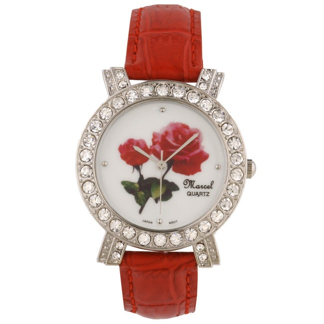 Marcel Drucker Collection Crystal Rose Watch