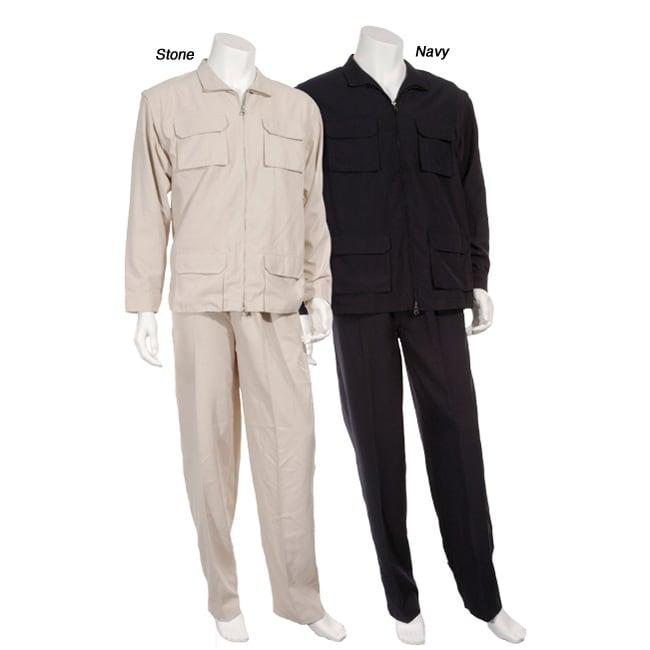 Majestic Men's 2-piece Microfiber Suit