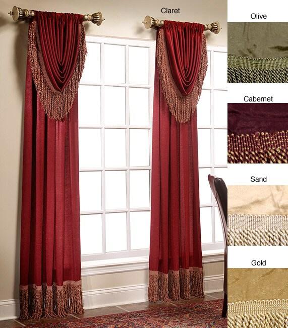 Versailles Curtain Panel Pair (95 in. x 100 in.)
