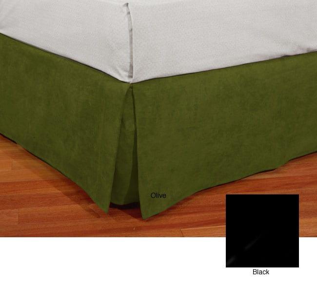 Microsuede Bed Skirt
