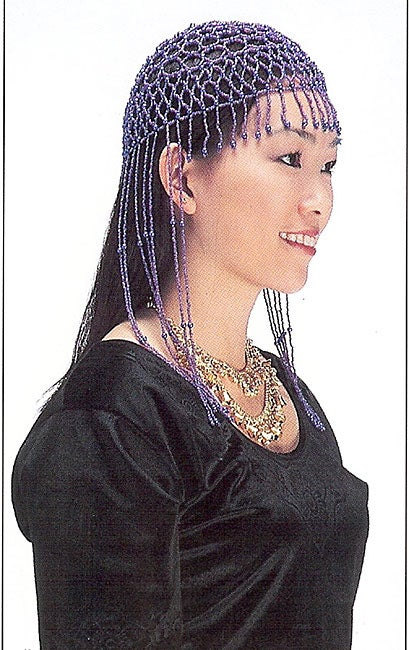 Handcrafted Bathsheba Cap Head Ornament (India)