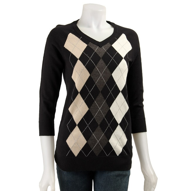 Shop MICHAEL Michael Kors Women's Argyle Sweater