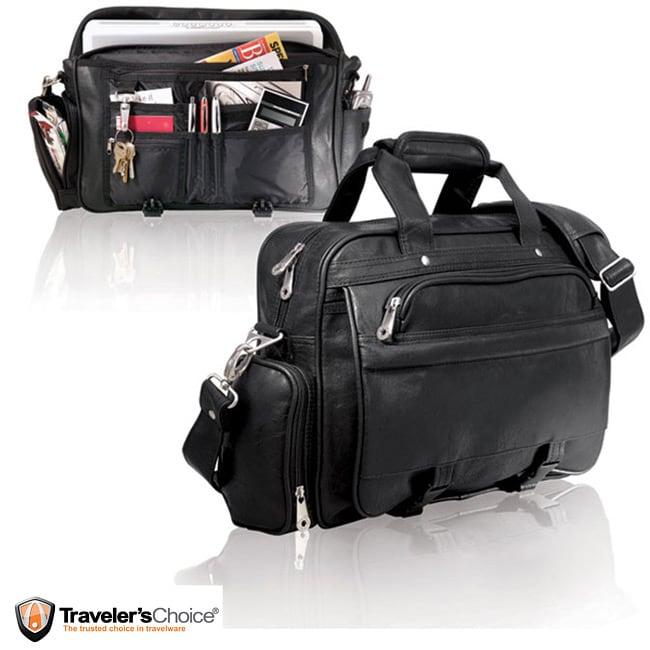 G Pacific Koskin Leather Messenger Bag