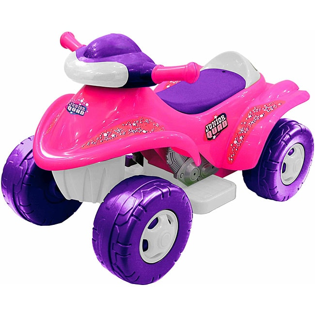 Pink Junior Quad Car
